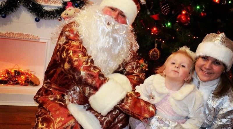 Вызов Деда Мороза на дом